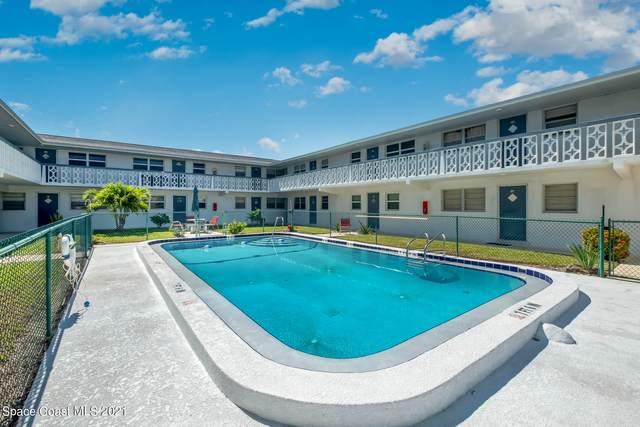 8521 Canaveral Boulevard #7, Cape Canaveral, FL 32920 (MLS #904891) :: Keller Williams Realty Brevard