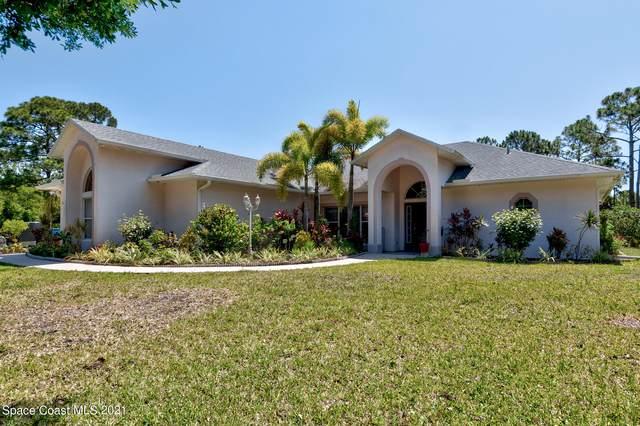 3545 Weber Road, Malabar, FL 32950 (MLS #905887) :: Premium Properties Real Estate Services