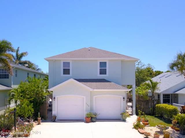 135 Ocean Garden Lane, Cape Canaveral, FL 32920 (MLS #906706) :: Keller Williams Realty Brevard