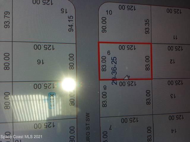 218 Fitchburg Street SW, Palm Bay, FL 32908 (MLS #906875) :: Armel Real Estate