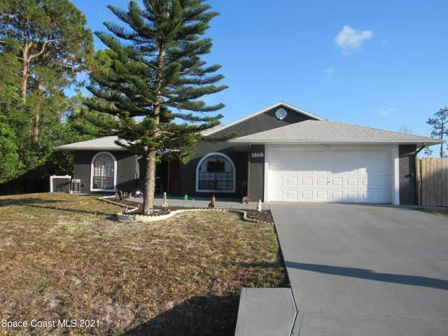 1868 Glenridge Street NW, Palm Bay, FL 32907 (MLS #907523) :: Armel Real Estate