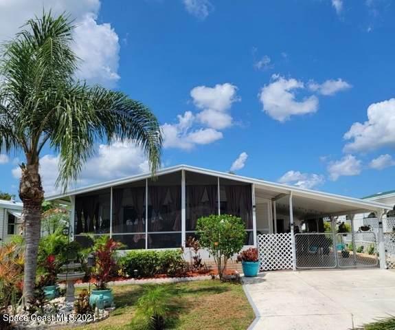 642 Papaya Circle, Barefoot Bay, FL 32976 (MLS #907542) :: Engel & Voelkers Melbourne Central