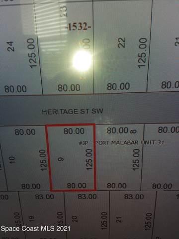 258 Heritage Street SW, Palm Bay, FL 32908 (MLS #907598) :: Engel & Voelkers Melbourne Central