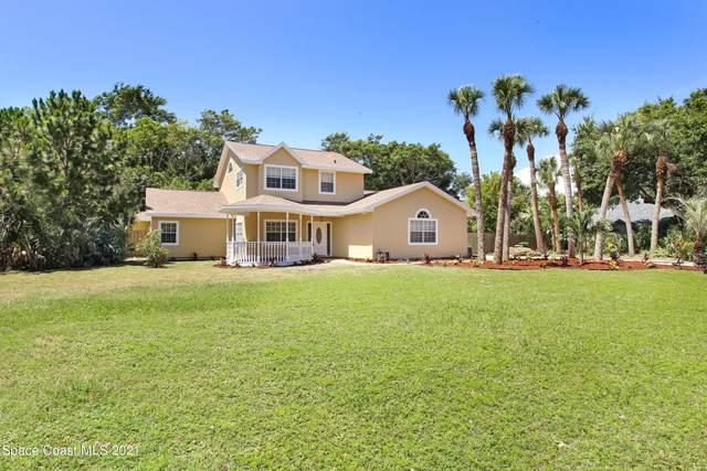 161 Island Grove Drive, Merritt Island, FL 32952 (MLS #907633) :: Blue Marlin Real Estate
