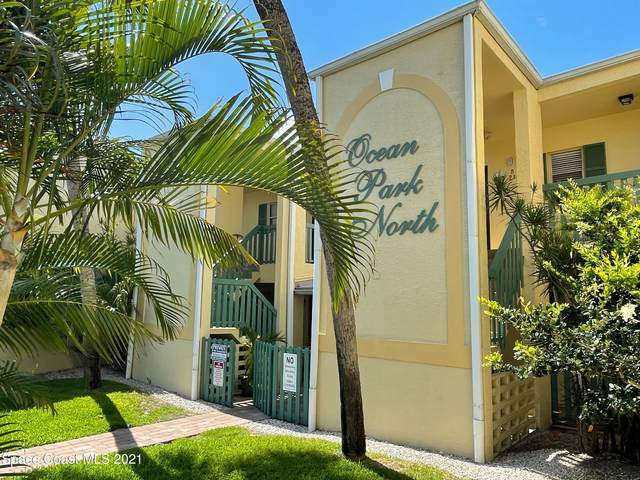 350 Taylor Avenue 22-B, Cape Canaveral, FL 32920 (MLS #907638) :: Engel & Voelkers Melbourne Central