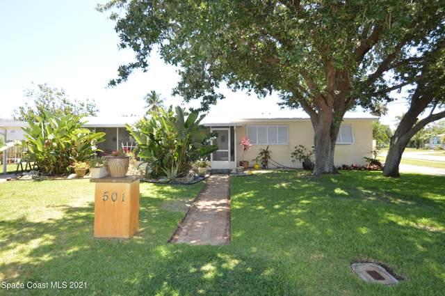 501 Sea Gull Drive, Satellite Beach, FL 32937 (MLS #907673) :: Engel & Voelkers Melbourne Central
