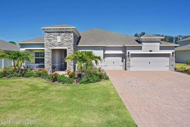 5090 Hebron Drive, Merritt Island, FL 32953 (MLS #907734) :: Blue Marlin Real Estate