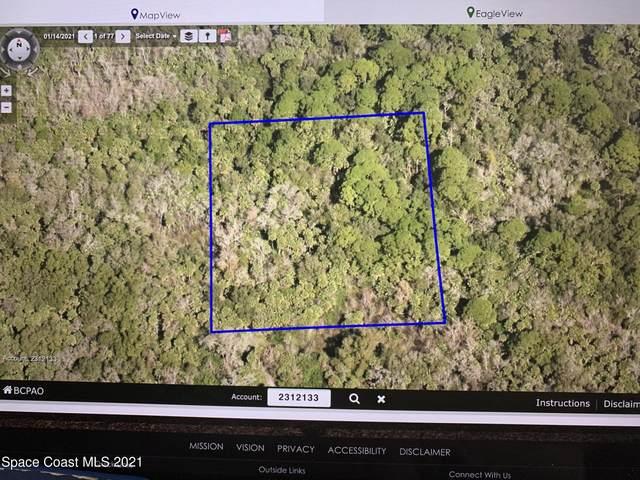 Unknown NE Unknown Street, Cocoa, FL 32926 (MLS #907867) :: Blue Marlin Real Estate