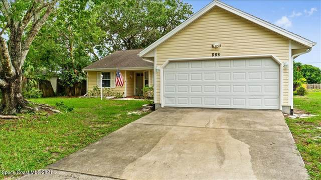 868 Beacon Street NW, Palm Bay, FL 32907 (MLS #907905) :: Engel & Voelkers Melbourne Central