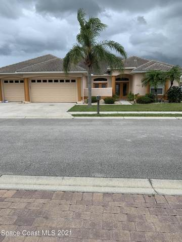 611 Manatee Bay Drive, Cape Canaveral, FL 32920 (MLS #908014) :: Premium Properties Real Estate Services