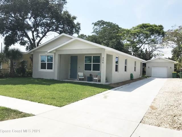 204 Lantana Lane, Melbourne, FL 32901 (MLS #908091) :: Blue Marlin Real Estate