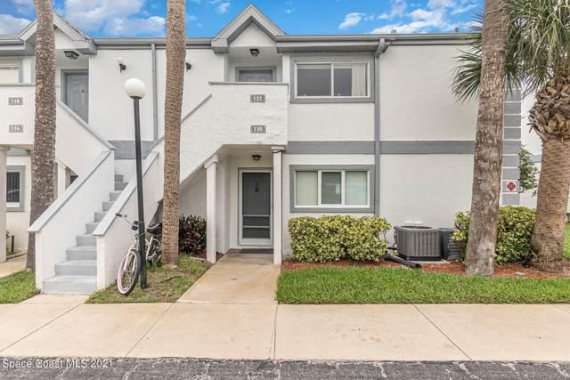 122 Beach Park Lane #28, Cape Canaveral, FL 32920 (MLS #908126) :: Engel & Voelkers Melbourne Central