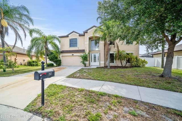 217 Becky Court, Merritt Island, FL 32952 (MLS #908142) :: Engel & Voelkers Melbourne Central