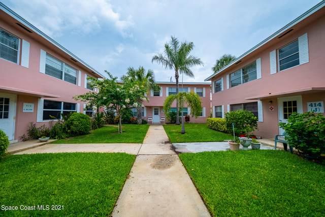410 Monroe Avenue #102, Cape Canaveral, FL 32920 (MLS #908145) :: Keller Williams Realty Brevard