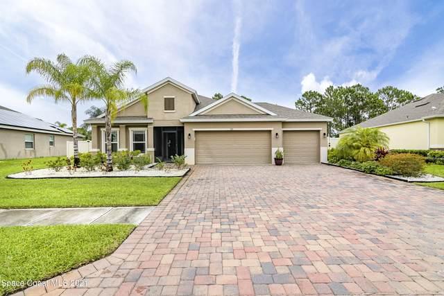 525 Stonebriar Drive SE, Palm Bay, FL 32909 (MLS #908206) :: Premium Properties Real Estate Services
