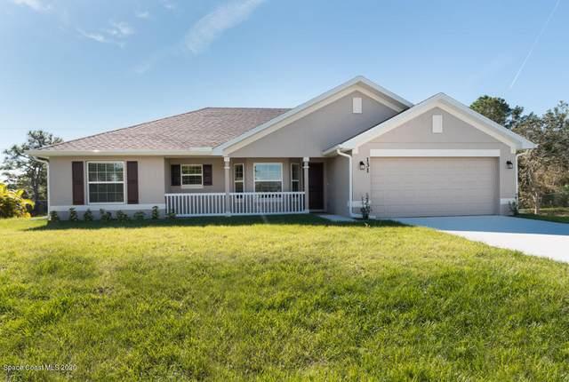 821 Brickell Street SE, Palm Bay, FL 32909 (MLS #908262) :: Armel Real Estate