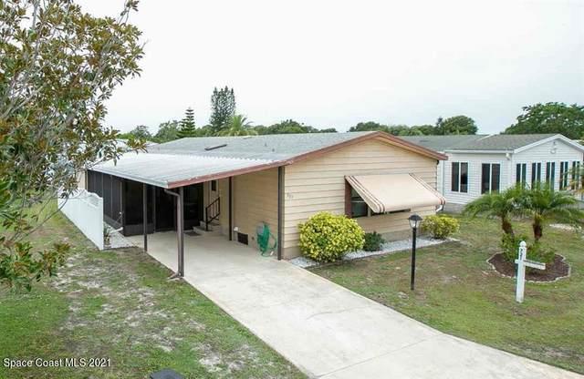721 Oleander Circle, Barefoot Bay, FL 32976 (MLS #908282) :: Blue Marlin Real Estate