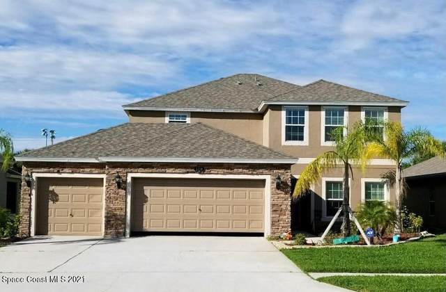 2118 Snapdragon Drive NW, Palm Bay, FL 32907 (MLS #908298) :: Premium Properties Real Estate Services