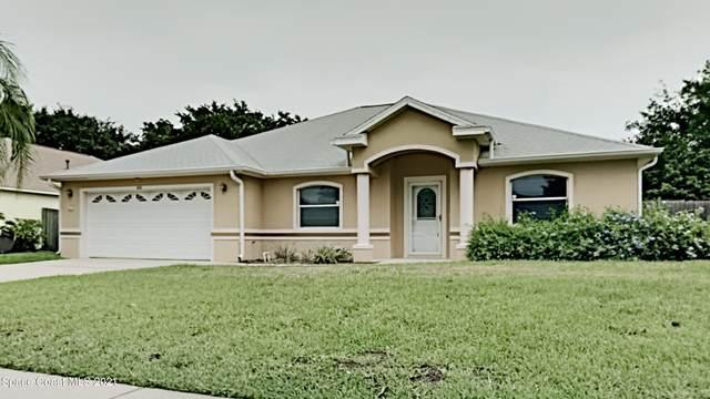 660 Wild Flower Street, Merritt Island, FL 32953 (MLS #908320) :: Blue Marlin Real Estate