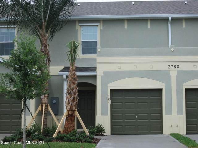 2780 Reston Street #103, Melbourne, FL 32935 (MLS #908336) :: Armel Real Estate