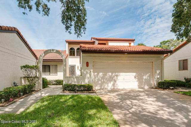 311 Parkside Place #311, Indian Harbour Beach, FL 32937 (MLS #908337) :: Blue Marlin Real Estate