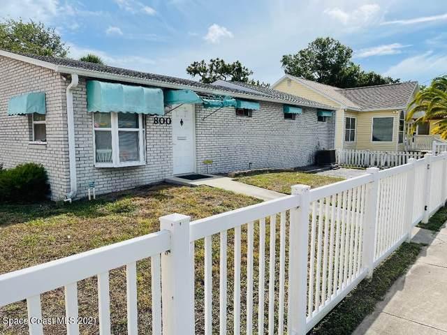 800 Palmetto Avenue, Melbourne, FL 32901 (MLS #908425) :: Blue Marlin Real Estate