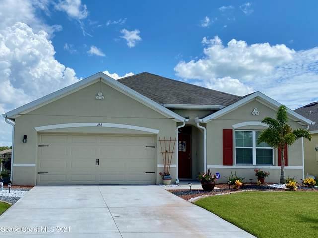 488 Moray Drive SW, Palm Bay, FL 32908 (MLS #908434) :: Armel Real Estate