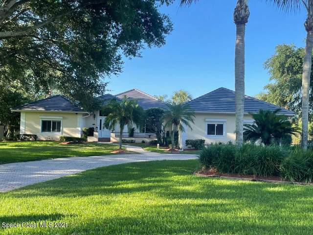 725 River Oaks Lane, Merritt Island, FL 32953 (MLS #908450) :: Blue Marlin Real Estate