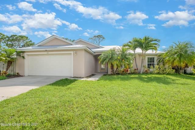 110 Chicory Avenue NE, Palm Bay, FL 32907 (MLS #908503) :: Blue Marlin Real Estate