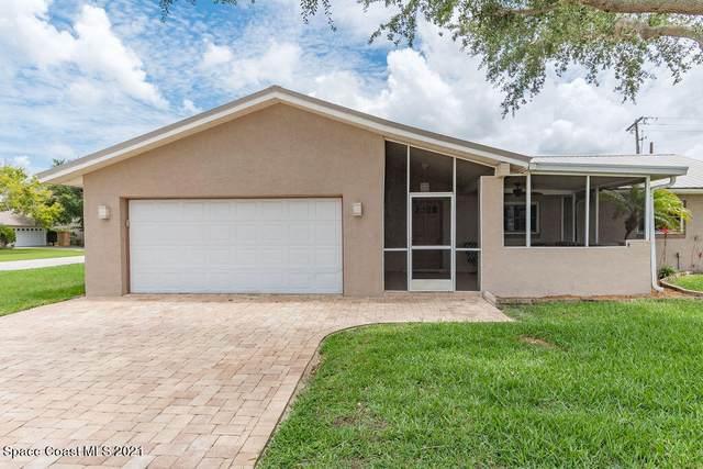 219 Via De La Reina, Merritt Island, FL 32953 (MLS #908510) :: Blue Marlin Real Estate