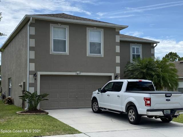 1657 La Maderia Drive, Palm Bay, FL 32908 (MLS #908618) :: Blue Marlin Real Estate