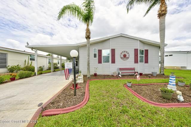 253 Timber Run Way #309, Cocoa, FL 32926 (MLS #908629) :: Blue Marlin Real Estate