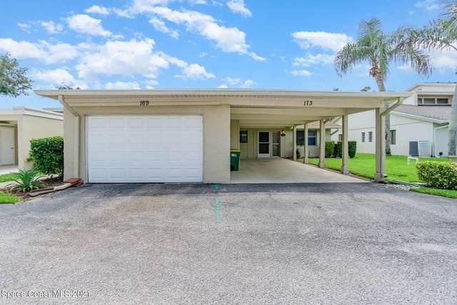173 Augusta Way, Melbourne, FL 32940 (MLS #908637) :: Blue Marlin Real Estate