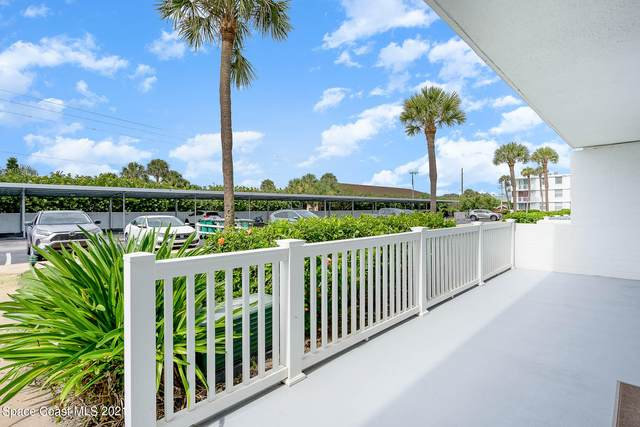 3190 N Atlantic Avenue #124, Cocoa Beach, FL 32931 (MLS #908724) :: Blue Marlin Real Estate