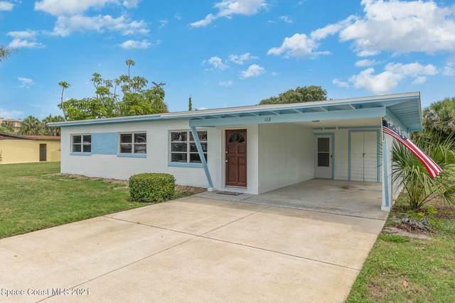 113 Mckinley Avenue, Cocoa Beach, FL 32931 (MLS #908941) :: Premium Properties Real Estate Services