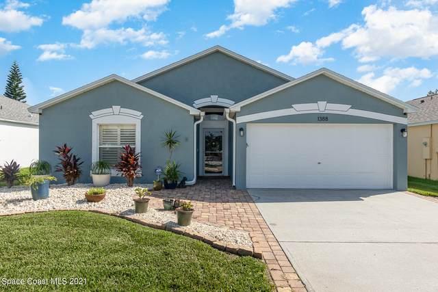 1388 Auburn Lakes Drive, Rockledge, FL 32955 (MLS #908943) :: Premium Properties Real Estate Services