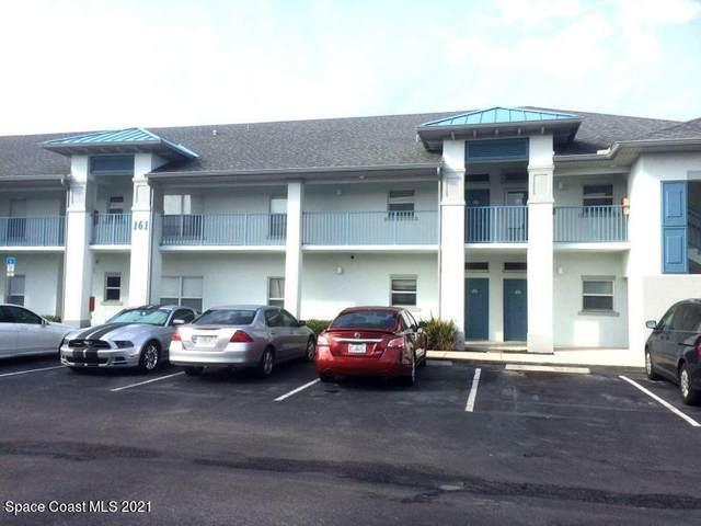 161 Portside Avenue #105, Cape Canaveral, FL 32920 (MLS #909147) :: Blue Marlin Real Estate