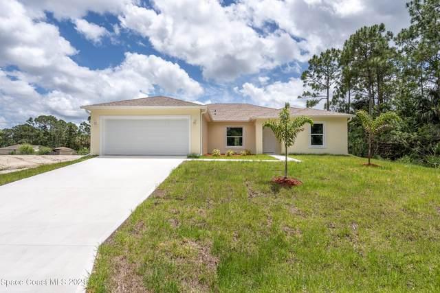 431 Dinner Street NE, Palm Bay, FL 32907 (MLS #909223) :: Blue Marlin Real Estate