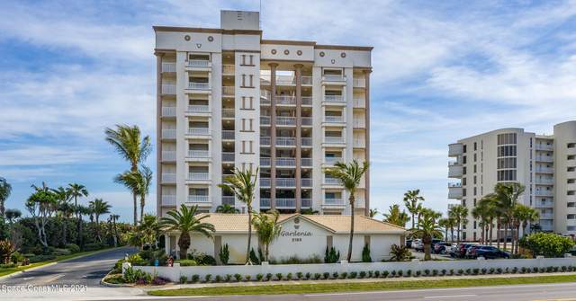 2195 Highway A1a #703, Indian Harbour Beach, FL 32937 (MLS #909309) :: Blue Marlin Real Estate