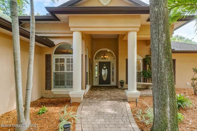 170 Alameda Drive, Merritt Island, FL 32952 (MLS #909601) :: Blue Marlin Real Estate