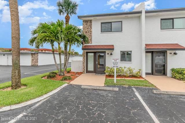 640 N Atlantic Avenue #1, Cocoa Beach, FL 32931 (MLS #909681) :: Keller Williams Realty Brevard