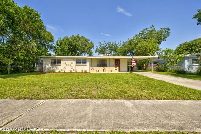 2423 Stanford Drive, Cocoa, FL 32926 (MLS #909874) :: Blue Marlin Real Estate