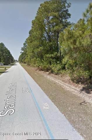 449 & 457 Santa Martia (2 Lots) Street SW, Palm Bay, FL 32908 (MLS #910151) :: Keller Williams Realty Brevard