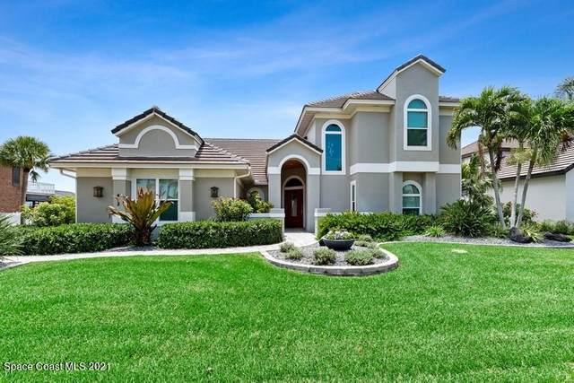 412 Lanternback Island Drive, Satellite Beach, FL 32937 (MLS #910187) :: Blue Marlin Real Estate