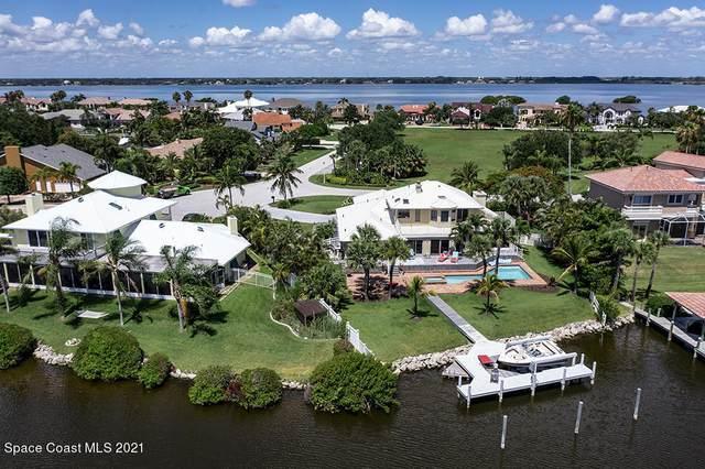 100 Lanternback Island Drive, Satellite Beach, FL 32937 (MLS #910371) :: Blue Marlin Real Estate