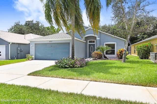 865 Villa Drive, Melbourne, FL 32940 (MLS #910377) :: Blue Marlin Real Estate