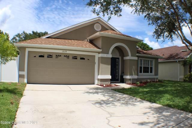 1228 Foxridge Place, Melbourne, FL 32940 (MLS #910389) :: Blue Marlin Real Estate