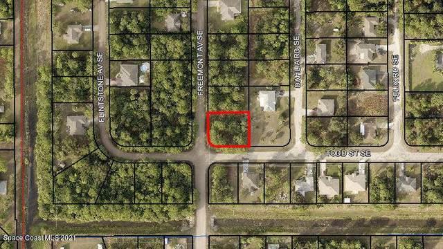 0000 Freemont Av Se & Todd St Se Avenue, Palm Bay, FL 32909 (MLS #910397) :: Blue Marlin Real Estate