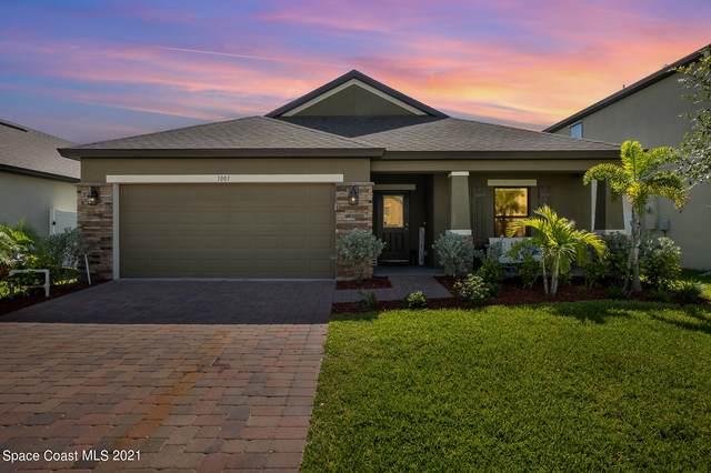 1001 Peta Way, Melbourne, FL 32940 (MLS #910400) :: Blue Marlin Real Estate