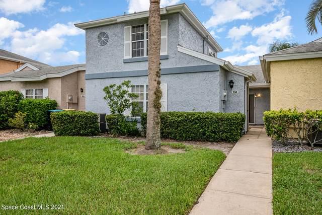 1475 Malibu Circle NE #104, Palm Bay, FL 32905 (MLS #910505) :: Blue Marlin Real Estate